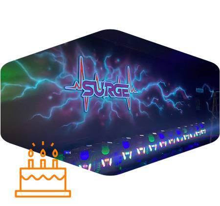 surge entertainment center laser tag birthday parties